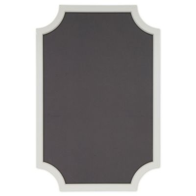 kate-and-laurel-hogan-framed-pinboard-in-grey by bed-bath-and-beyond