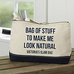 Expressions Personalized Makeup Bag