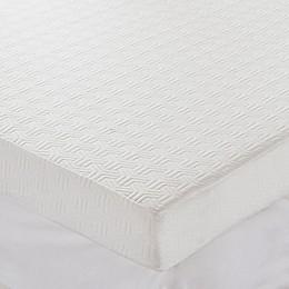 Sleep Philosophy Flexapedic 4-Inch Foam Topper with 3M Scotchgard™