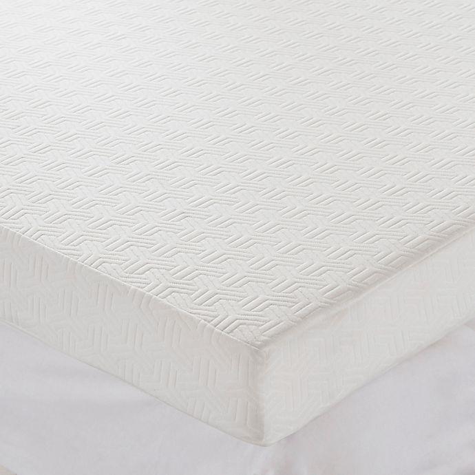 Alternate image 1 for Sleep Philosophy Flexapedic 4-Inch Foam Topper with 3M Scotchgard™