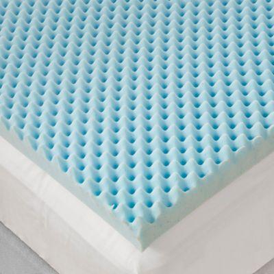 Sleep Philosophy Flexapedic 3 Inch Gel Foam Egg Crate