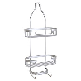 Better Living Aries 3-Tier Hanging Shower Caddy in Aluminum