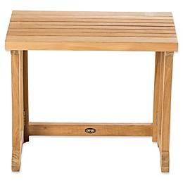 ARB Teak & Specialties Teak Wood Bath Bench/Chair