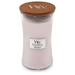 WoodWick® Wild Violet Large Hourglass Jar Candle