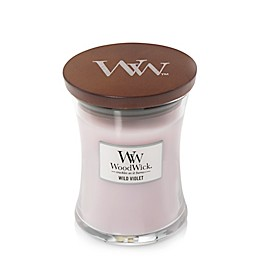 WoodWick® Wild Violet Medium Hourglass Jar Candle
