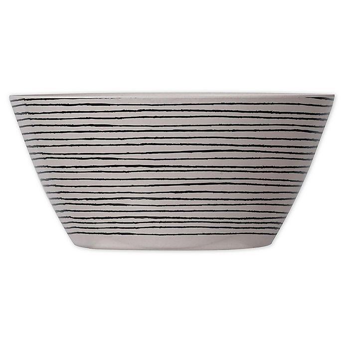 Alternate image 1 for A&B Home Bamboo & Melamine Patterned Bowls (Set of 4)