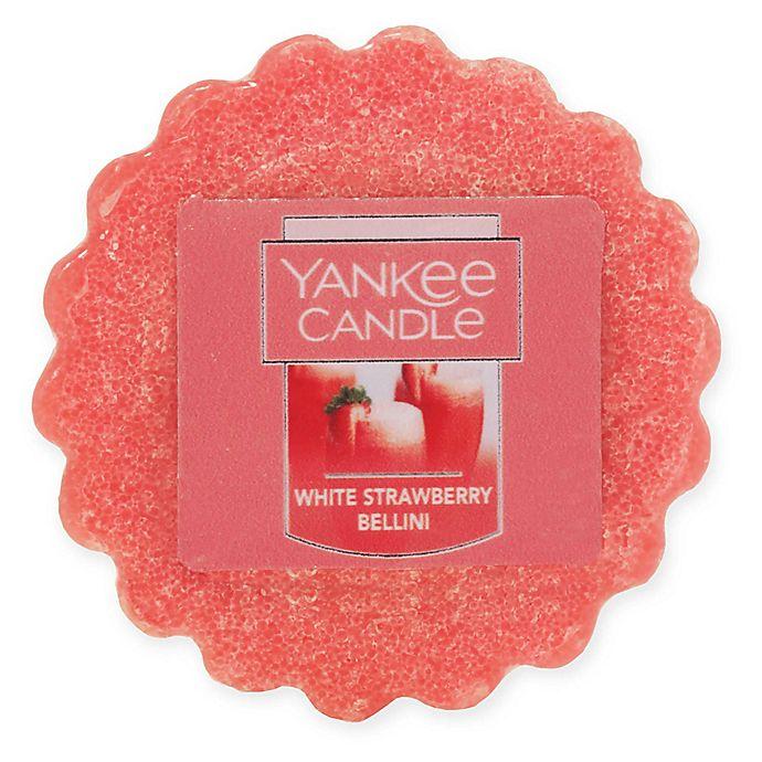 Alternate image 1 for Yankee Candle® White Strawberry Bellini Tarts® Wax Melts
