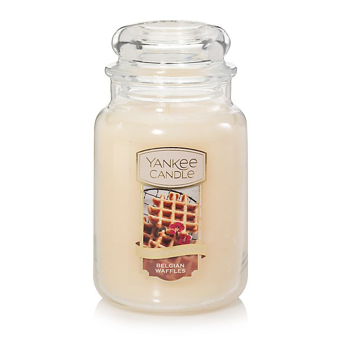 Alternate image 1 for Yankee Candle® Housewarmer® Belgian Waffles Large Classic Jar Candle