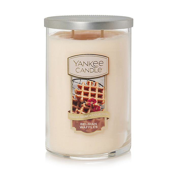 Alternate image 1 for Yankee Candle® Housewarmer® Belgian Waffles Large 2-Wick Tumbler Candle