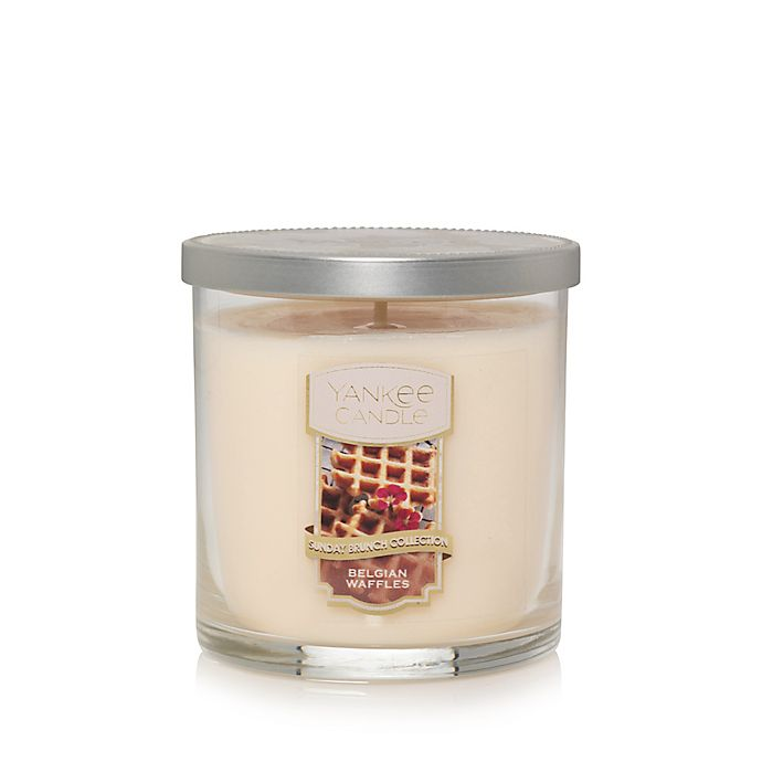 Alternate image 1 for Yankee Candle® Housewarmer® Belgian Waffles Small 2-Wick Tumbler Candle