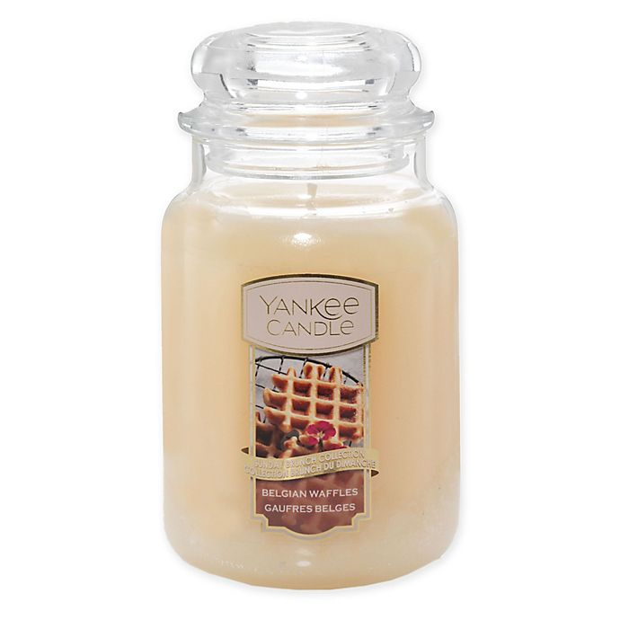 Alternate image 1 for Yankee Candle® Housewarmer® Belgian Waffles Large Classic Jar Candle