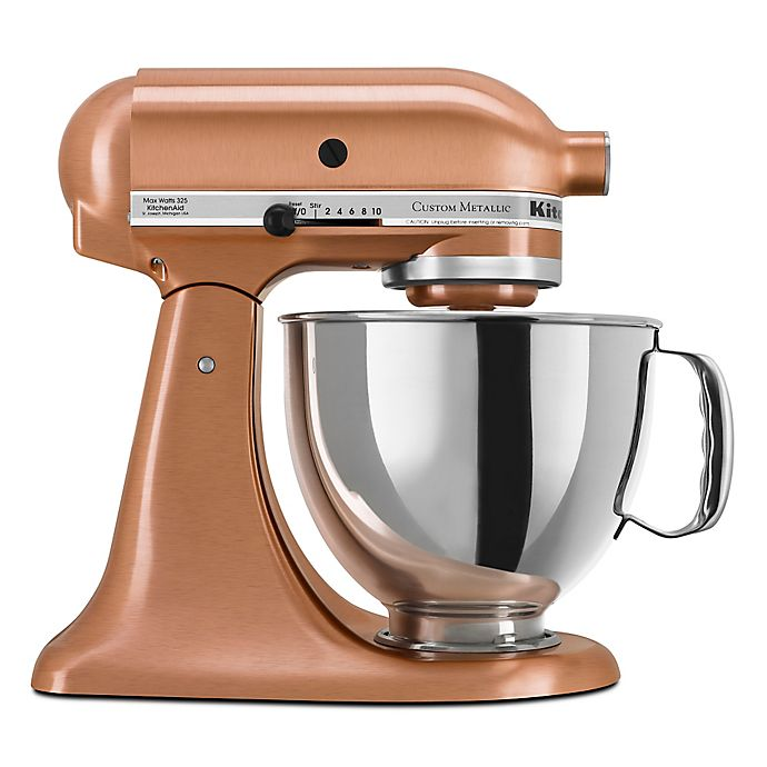 5a715232ddd KitchenAid® Custom Metallic® Series 5 Quart Tilt-Head Stand Mixer ...