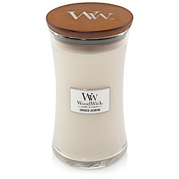 WoodWick® Smoked Jasmine Large Hourglass Jar Candle
