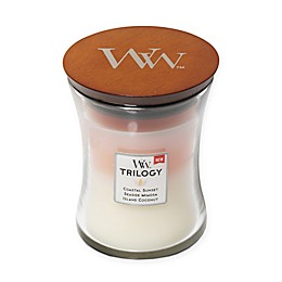 WoodWick® Trilogy Island Getaway Medium Hourglass Jar Candle