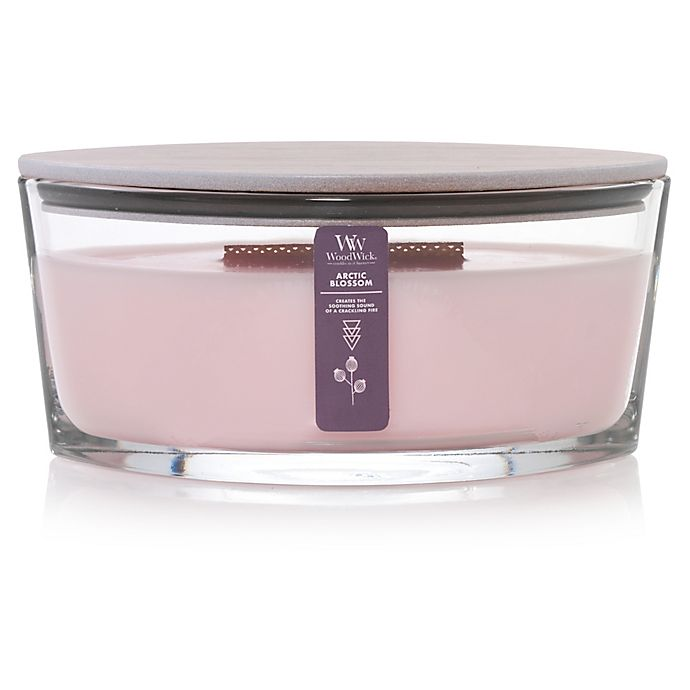 WoodWick® Arctic Blossoms Large Oval Candle Jar | Bed Bath ...