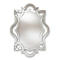 Baxton Studio Neven Accent Mirror in Silver