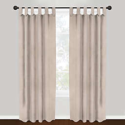 Park B Smith Vintage House 100 Cotton Brighton Tab Top Window Curtain Panels