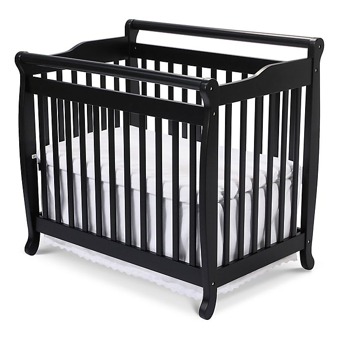 Alternate image 1 for DaVinci Emily 4-in-1 Convertible Mini Crib