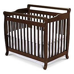 DaVinci Emily 2-in1 Convertible Mini Crib in Espresso
