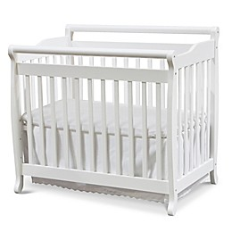 DaVinci Emily 2-in1 Convertible Mini Crib in White