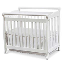 DaVinci Emily 4-in-1 Convertible Mini Crib in White