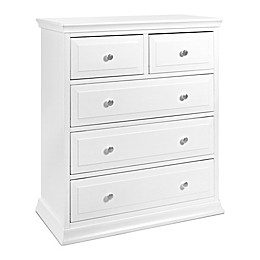 DaVinci Signature 5-Drawer Tall Dresser in White