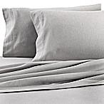 Dormisette Cotton Linen Queen Sheet Set in Grey