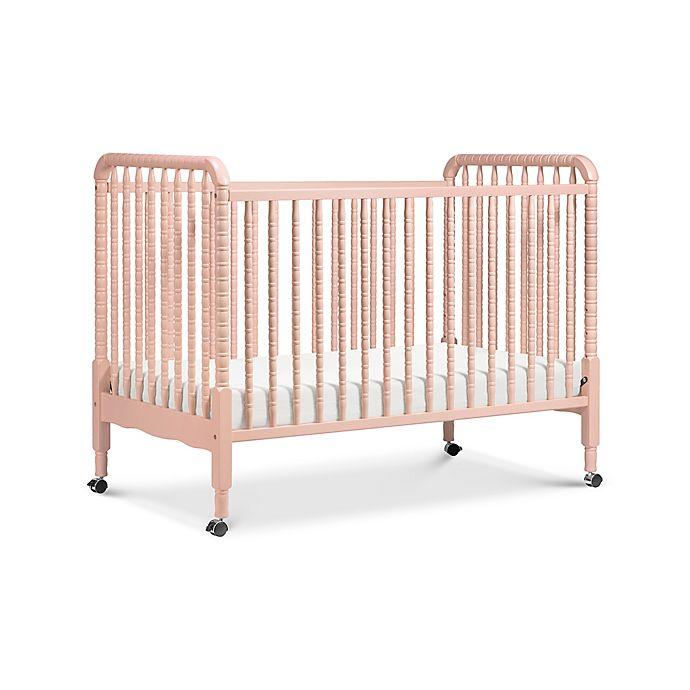 Davinci Jenny Lind Stationary Crib In Blush Pink Buybuy Baby