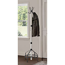 Bee & Willow™ Home Coat Rack in White Wash