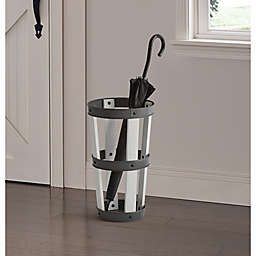 Bee & Willow™ Home Umbrella Stand in White Wash