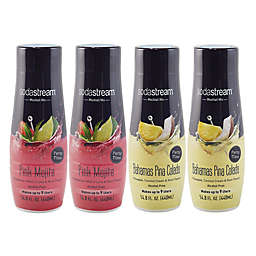 SodaStream® 4-Piece Mocktails Sparkling Drink Mix Variety Set