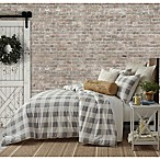 Bee & Willow™ Home Buffalo Check King Comforter Set in Grey
