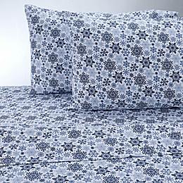 Therapedic® 100% Ring Spun Cotton Flannel Pattern Sheet Set