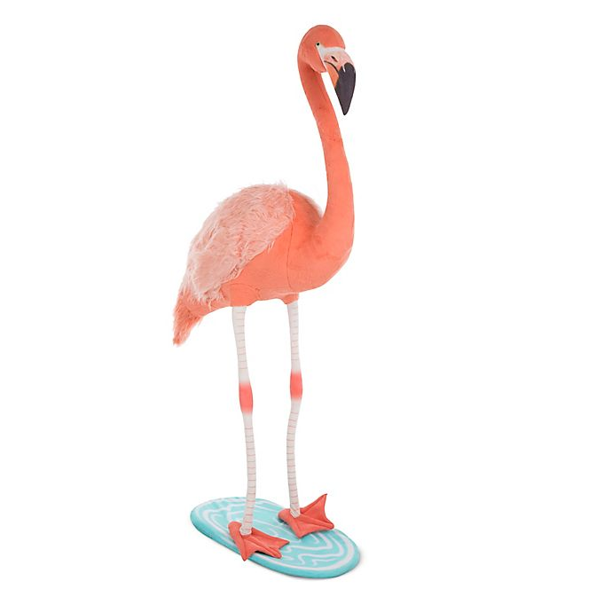 Alternate image 1 for Melissa & Doug® Jmbo Flamingo Plush Toy