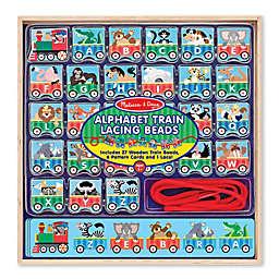 Melissa & Doug® Alphabet Train Lacing Beads