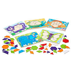 Melissa & Doug® Animal Pattern Blocks Puzzles