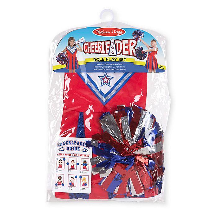 Alternate image 1 for Melissa & Doug® Cheerleader Role Play Set