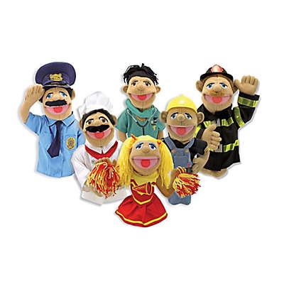 Melissa & Doug® 6-Piece Puppet Set