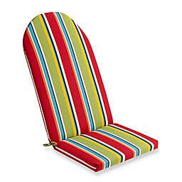 Stripe Outdoor Adirondack Cushion