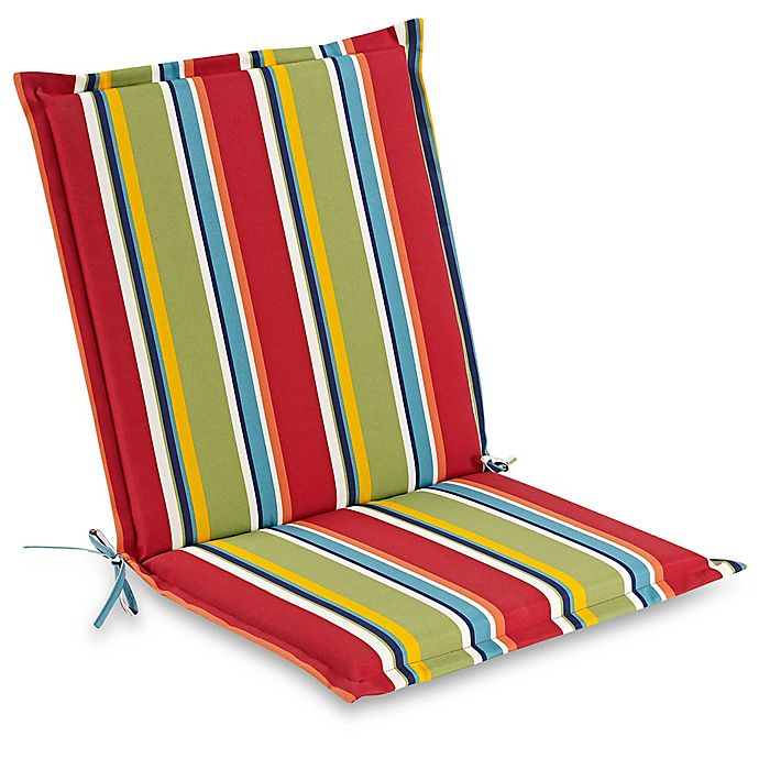 Stripe Indoor Outdoor Folding Sling Chair Cushion