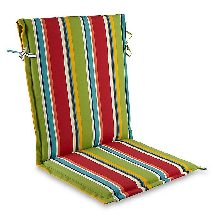 Alternate image 1 for Stripe Sling Back Indoor/Outdoor Cushion