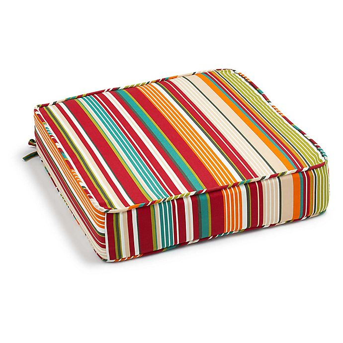 Alternate image 1 for Stripe Outdoor Deep Seat Cushion