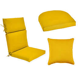 Forsyth Solid Outdoor Cushion and Throw Pillow Collection