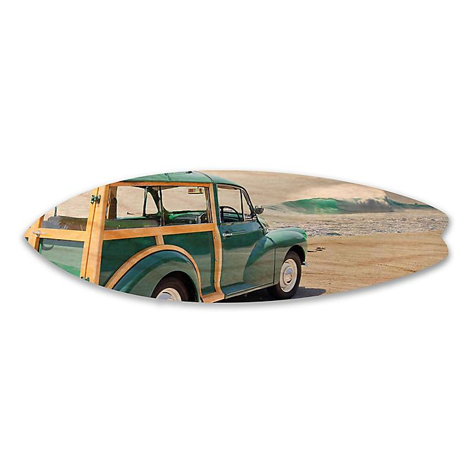 Woodie Waves Birch Wood Wall Art Bed Bath Beyond