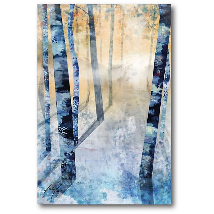 Alternate image 1 for Courtside Market™ Winter Trees 12-Inch x 1.5-Inch Framed Wrapped Canvas