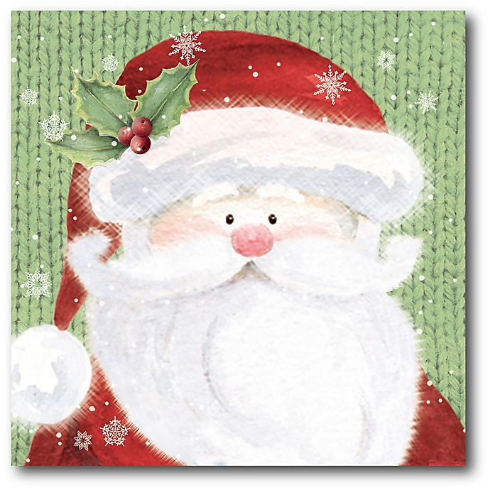 Alternate image 1 for Courtside Market™ Santa 16-Inch x 1.5-Inch Framed Wrapped Canvas