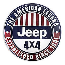 Licensed Jeep 15-Inch Metal Wall Art