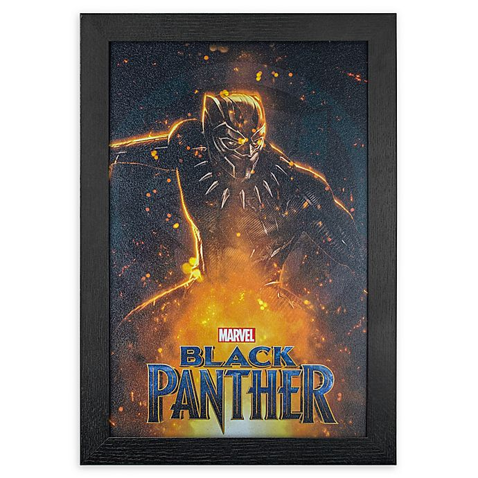 Alternate image 1 for Black Panther 1-Inch x 19-Inch Framed Print