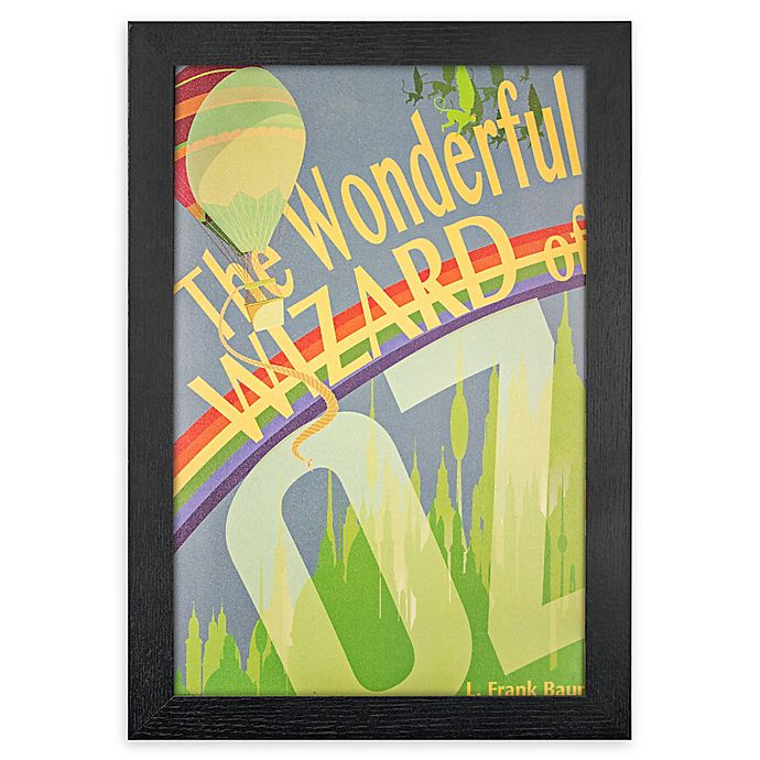 Alternate image 1 for The Wizard Of Oz 13-Inch x 19-Inch Framed Canvas Wall Art
