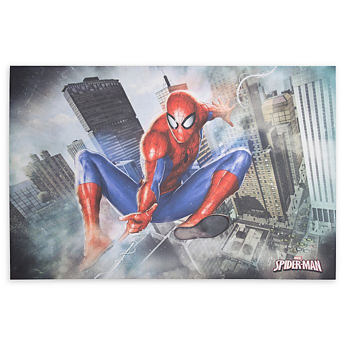 Alternate image 1 for Spider-Man 36-Inch x 24-Inch Canvas Wall Art